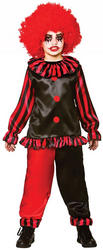 Evil Clown Boys Costume