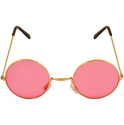 Glasses with Pink Lenses