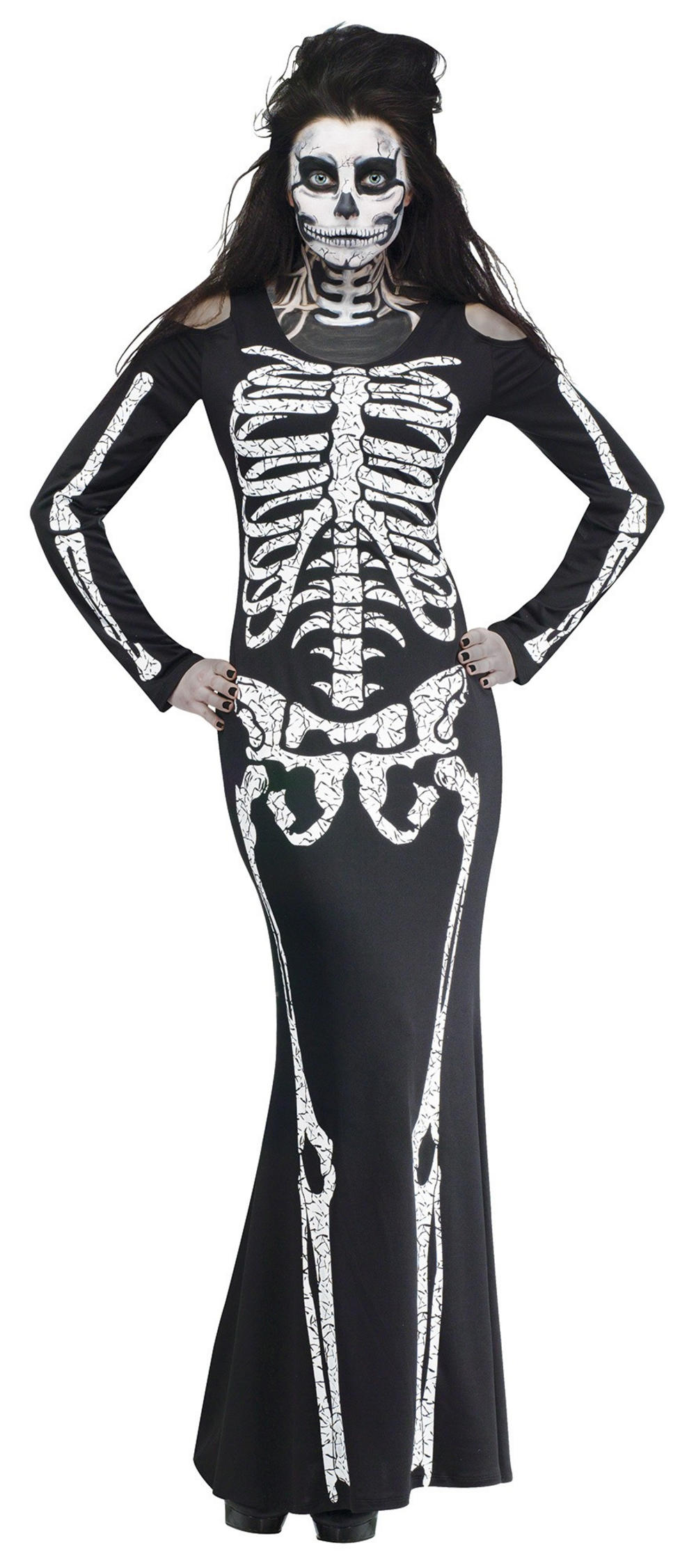 Skelelicious Ladies Costume