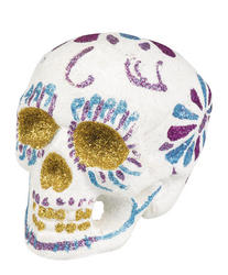 White Sugar Skull Costume Prop