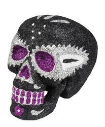 Black Sugar Skull Costume Prop