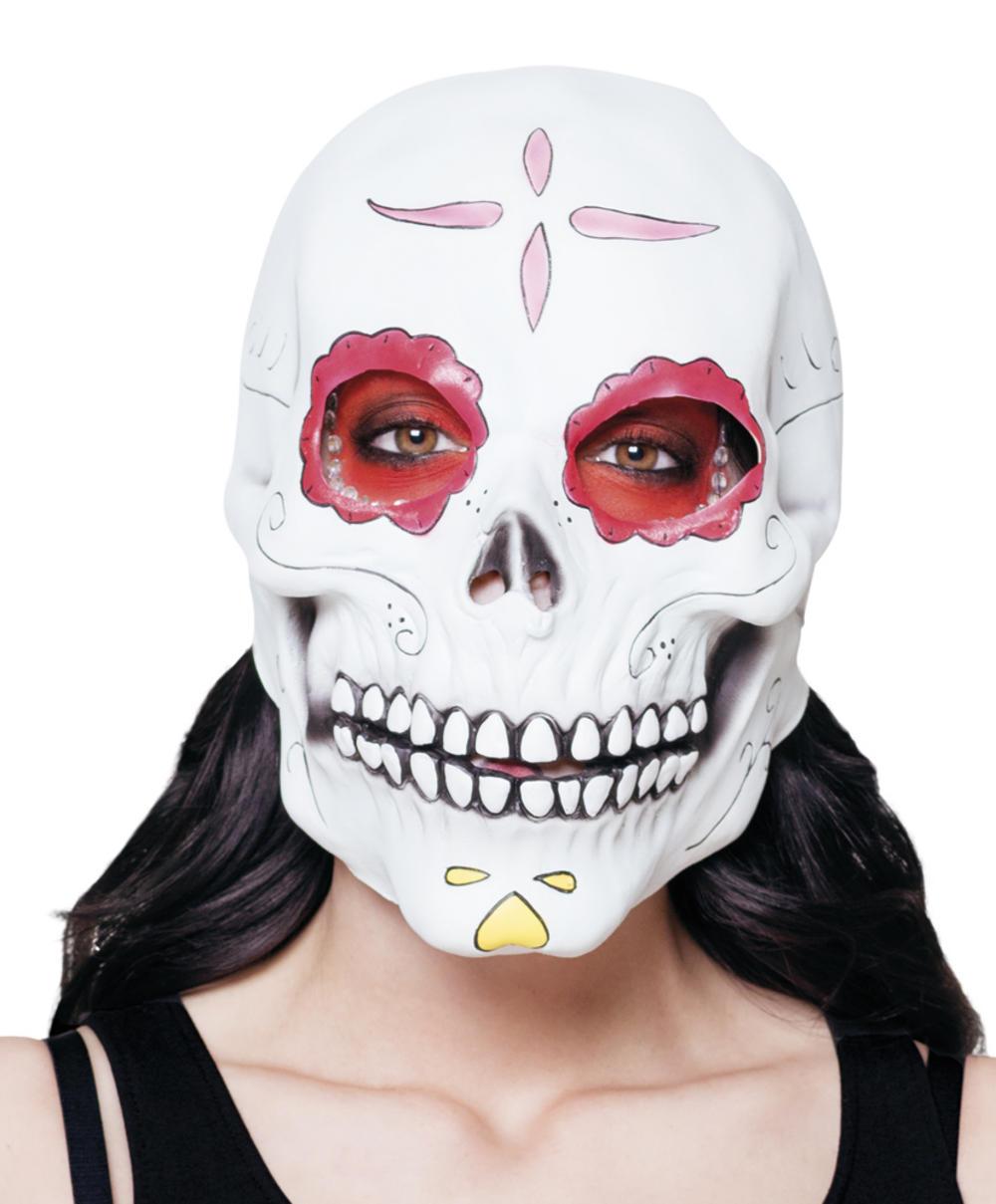 latex mask senora calavera costume accessory | halloween accessories
