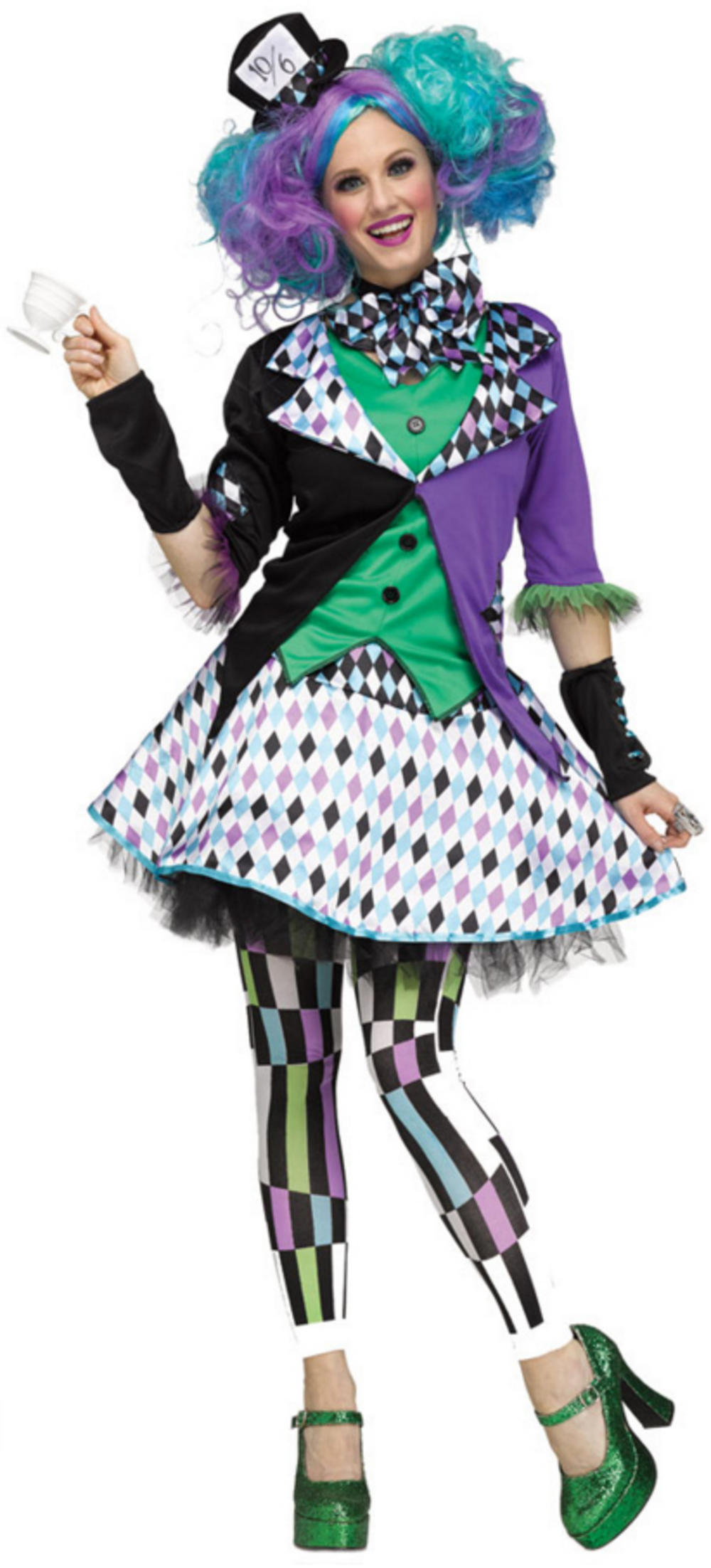 Mad Hatter Ladies Costume