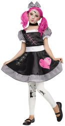 Broken Doll Girls Costume