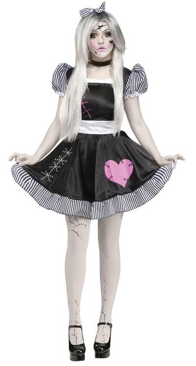 Broken Doll Ladies Costume