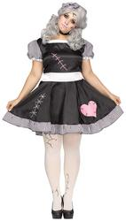Broken Doll Ladies Plus size Costume