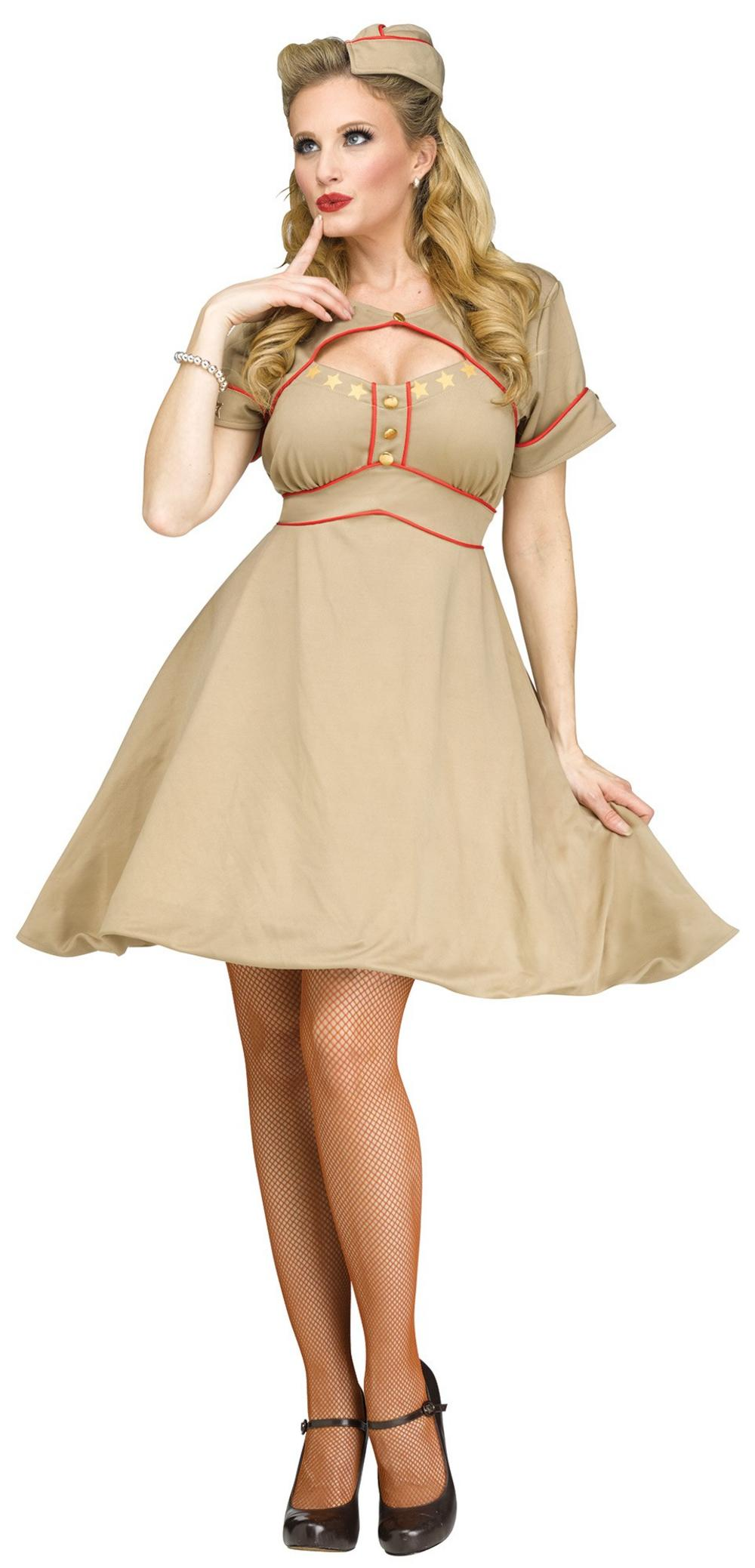 Army Gal Ladies Costume