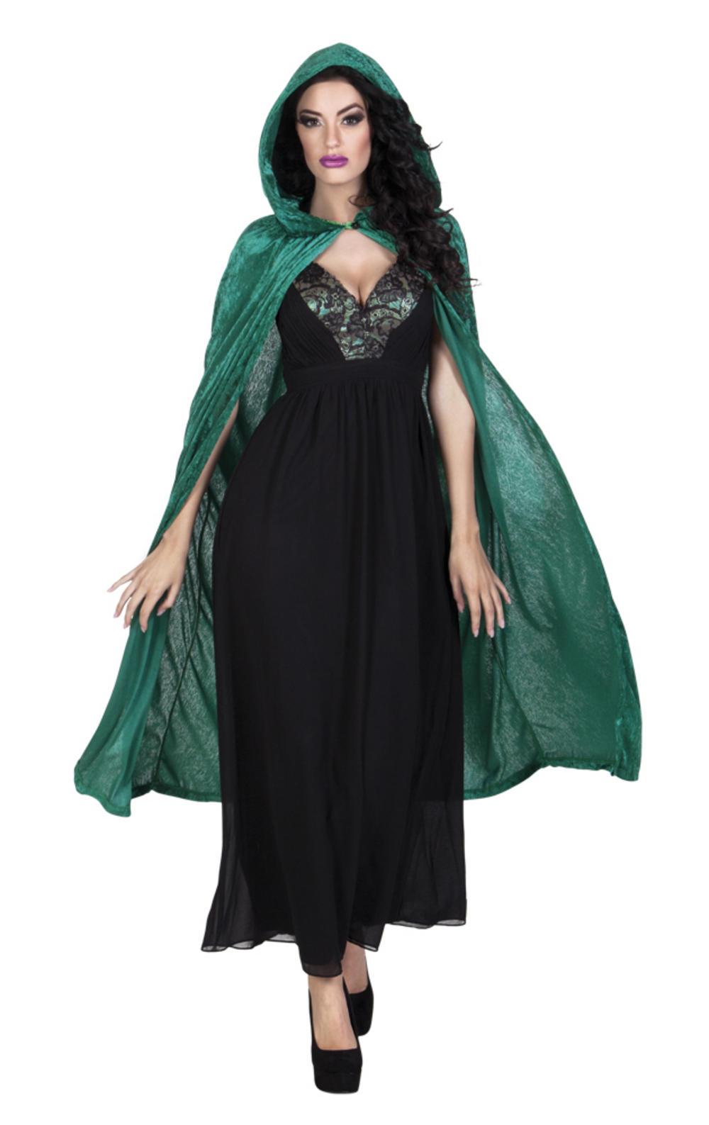 Dawn Green Cape Costume Accessory