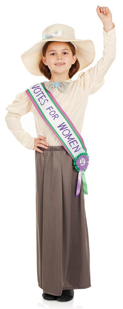 Suffragette Girls Costume