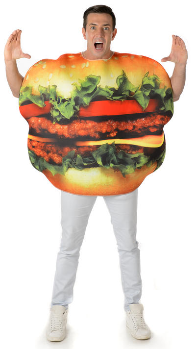 Burger Adults Costume
