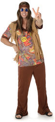 Groovy Hippie Man Mens Costume