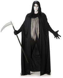 Dark Grim Reaper Mens Costume