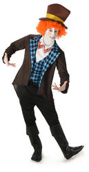 Mad Hatter Mens Costume