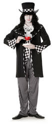 Dark Mad Hatter Mens Costume
