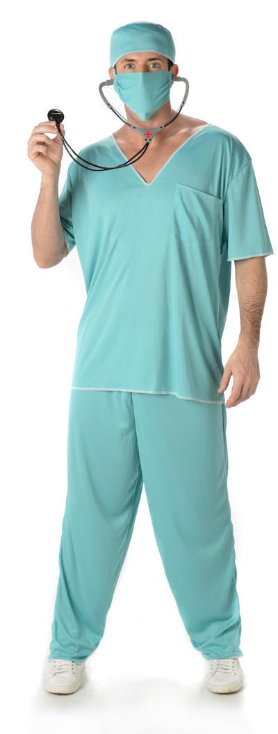 Doctor Scrubs Mens Costume