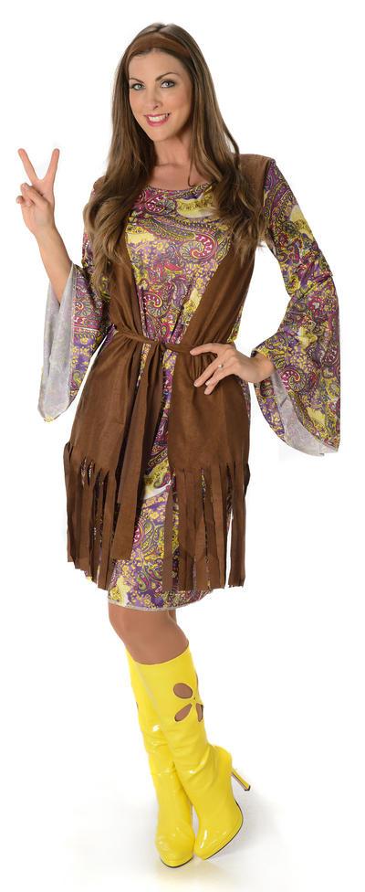 Funky Hippie Ladies Costume