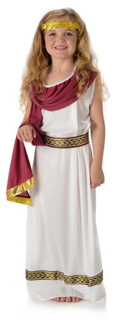 Imperial Roman Empress Girls Costume