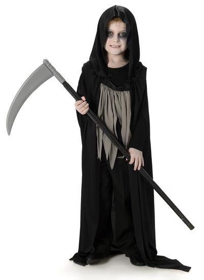 Dark Grim Reaper Boys Costume