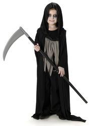 Dark Grim Reaper Boys Costume