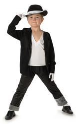 King of Pop Boys Costume