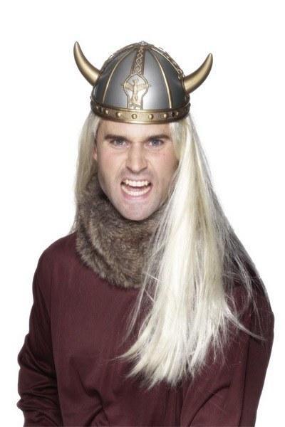 PVC Viking Helmet With Horns