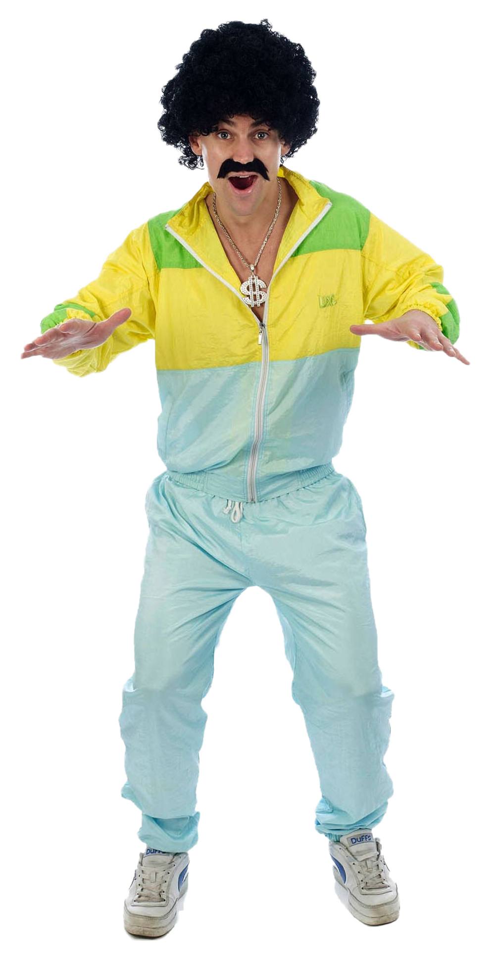 80s Shellsuit Scouser Costume | Stag Party Costumes | Mega Fancy Dress