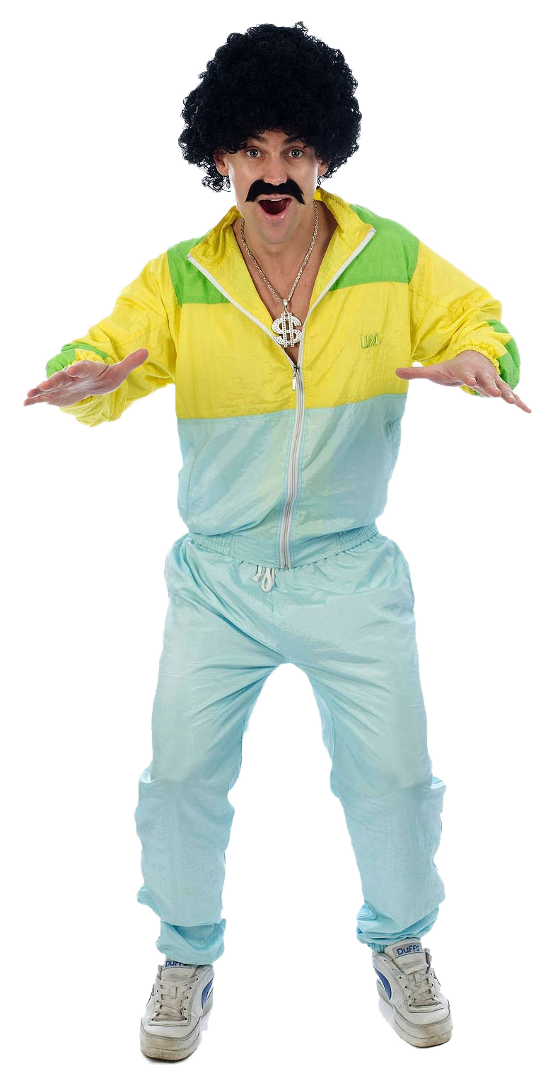 80s Shellsuit Scouser Costume | Stag Party Costumes | Mega ...