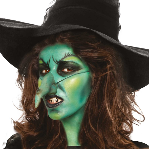 sentinel green cream make up fancy dress halloween witch kids adults costume face paint - Witch Pictures For Kids