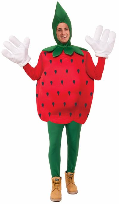 Red Strawberrry Costume