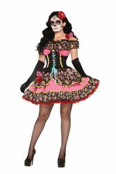 Day of the Dead Senorita Ladies Costume