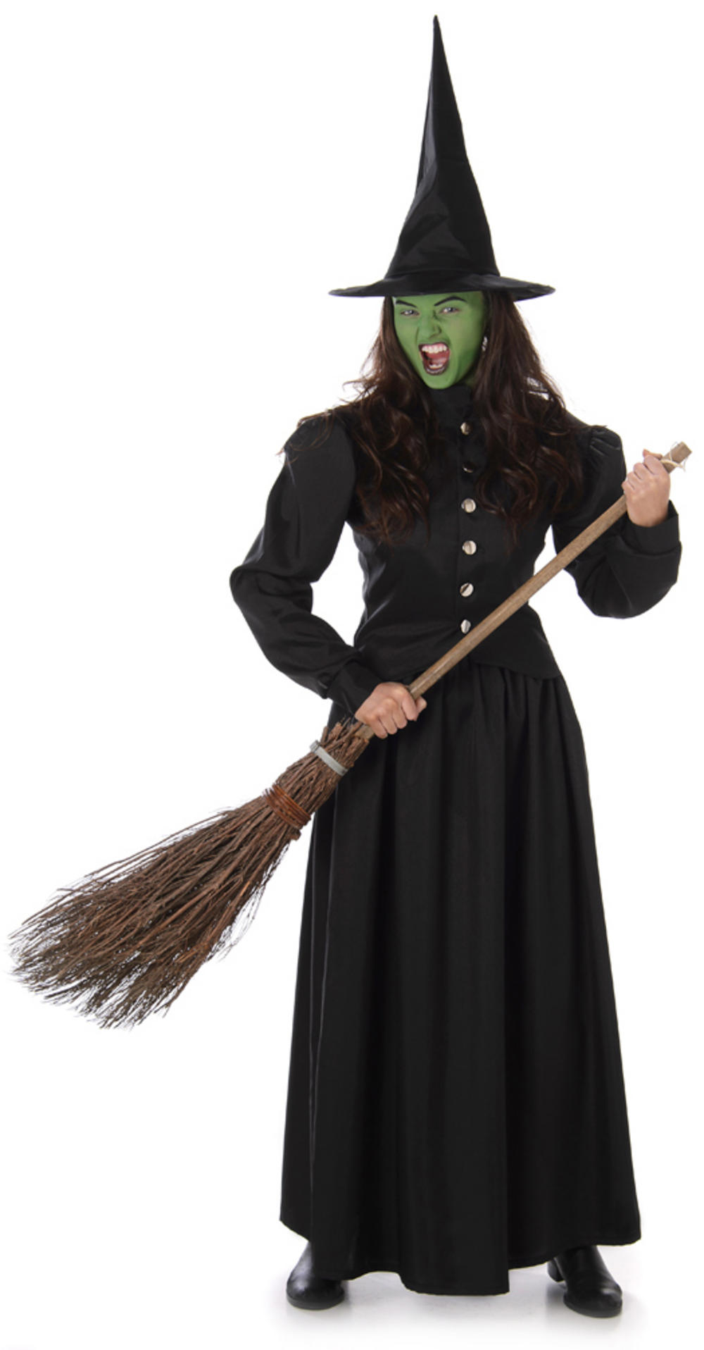 Wicked Witch Womens Fancy Dress Costume