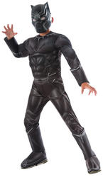 Deluxe Black Panther Civil War Boys Costume