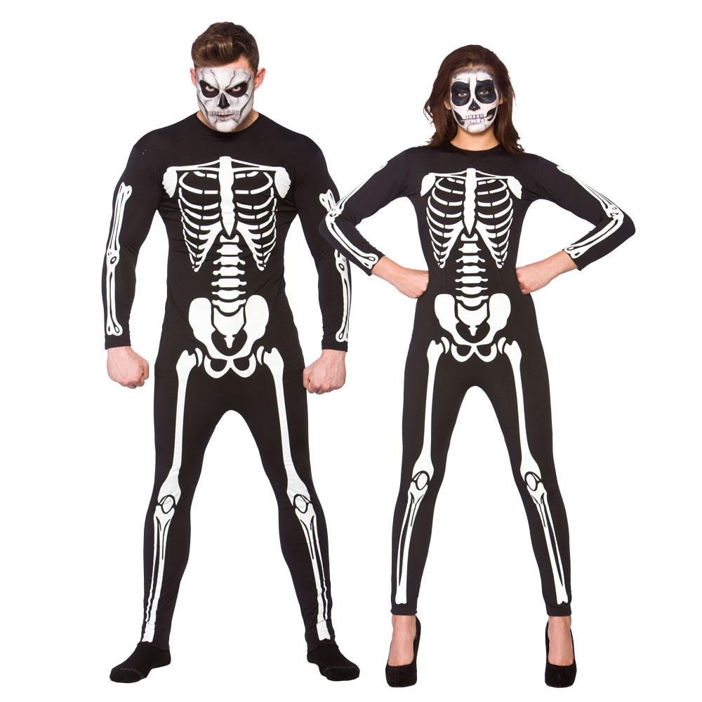 Skeleton Halloween Costumes For Adults