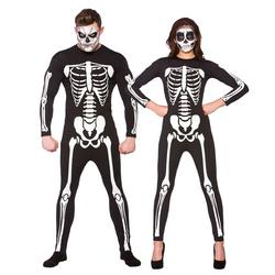 Skeleton Jumpsuit Adults Costume