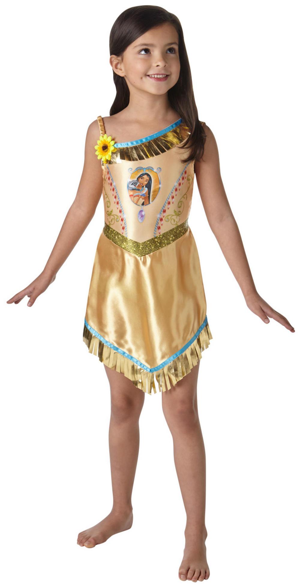 Fairytale Pocahontas Girls Costume