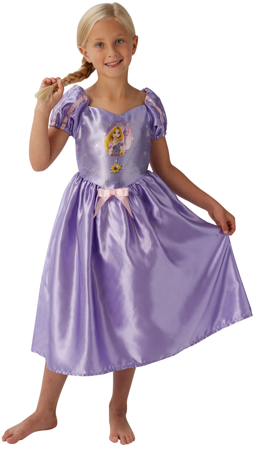 b7a3f4b6e68a Fairytale Rapunzel Girls Costume | Girl's World Book Day Fancy Dress  Costumes | Mega Fancy Dress
