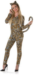 Tiger Cat Suit Ladies Costume