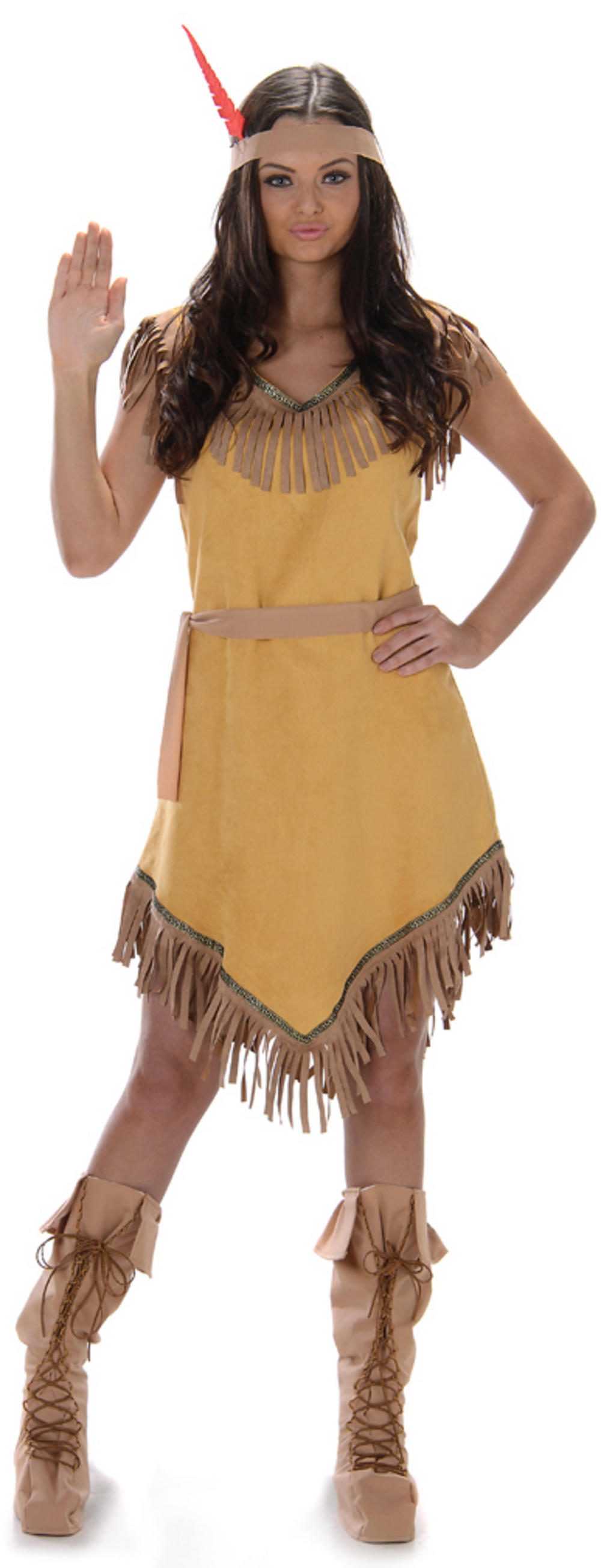 Indian Girl Ladies Costume