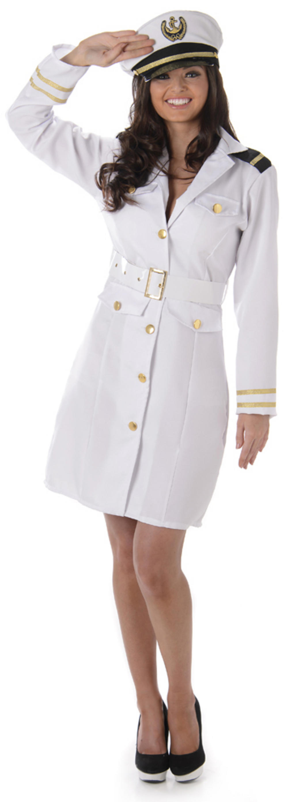 Navy Officer Ladies Costume