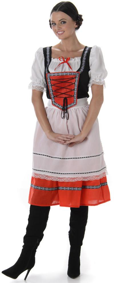 Bavarian Girl Ladies Costume