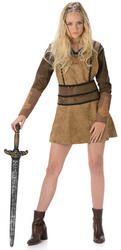 Babarian Girl Ladies Costume