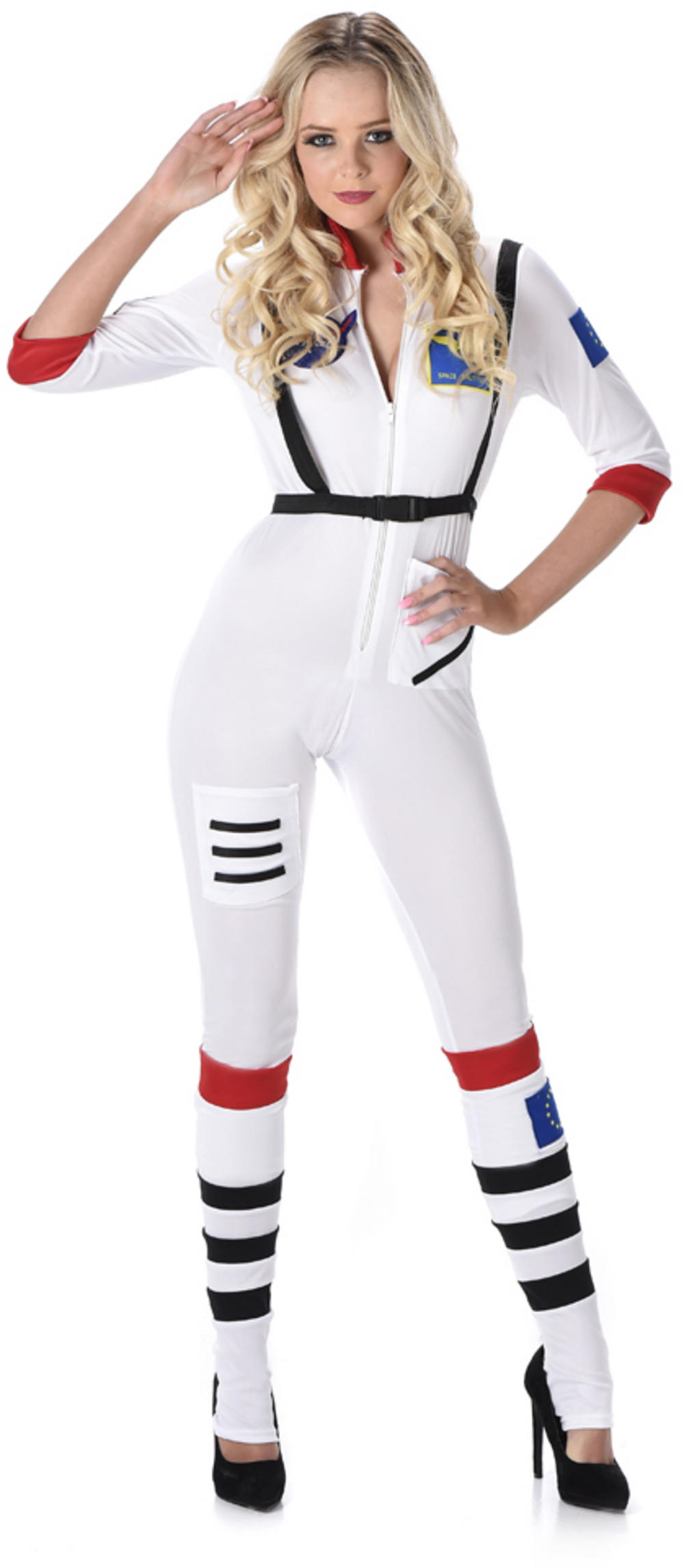 Female Astronaut Ladies Costume