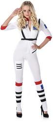Female Astronaut Ladies Costume