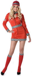 Racer Girl Ladies Costume