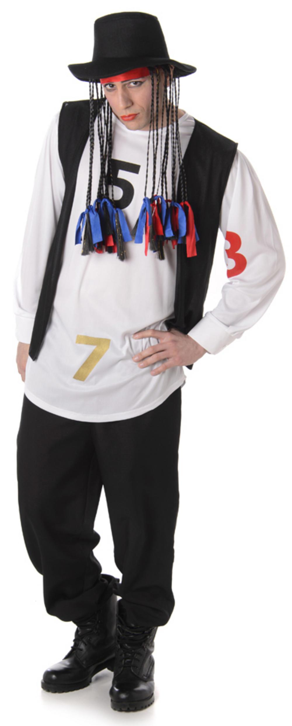 Pop Star Mens Costume
