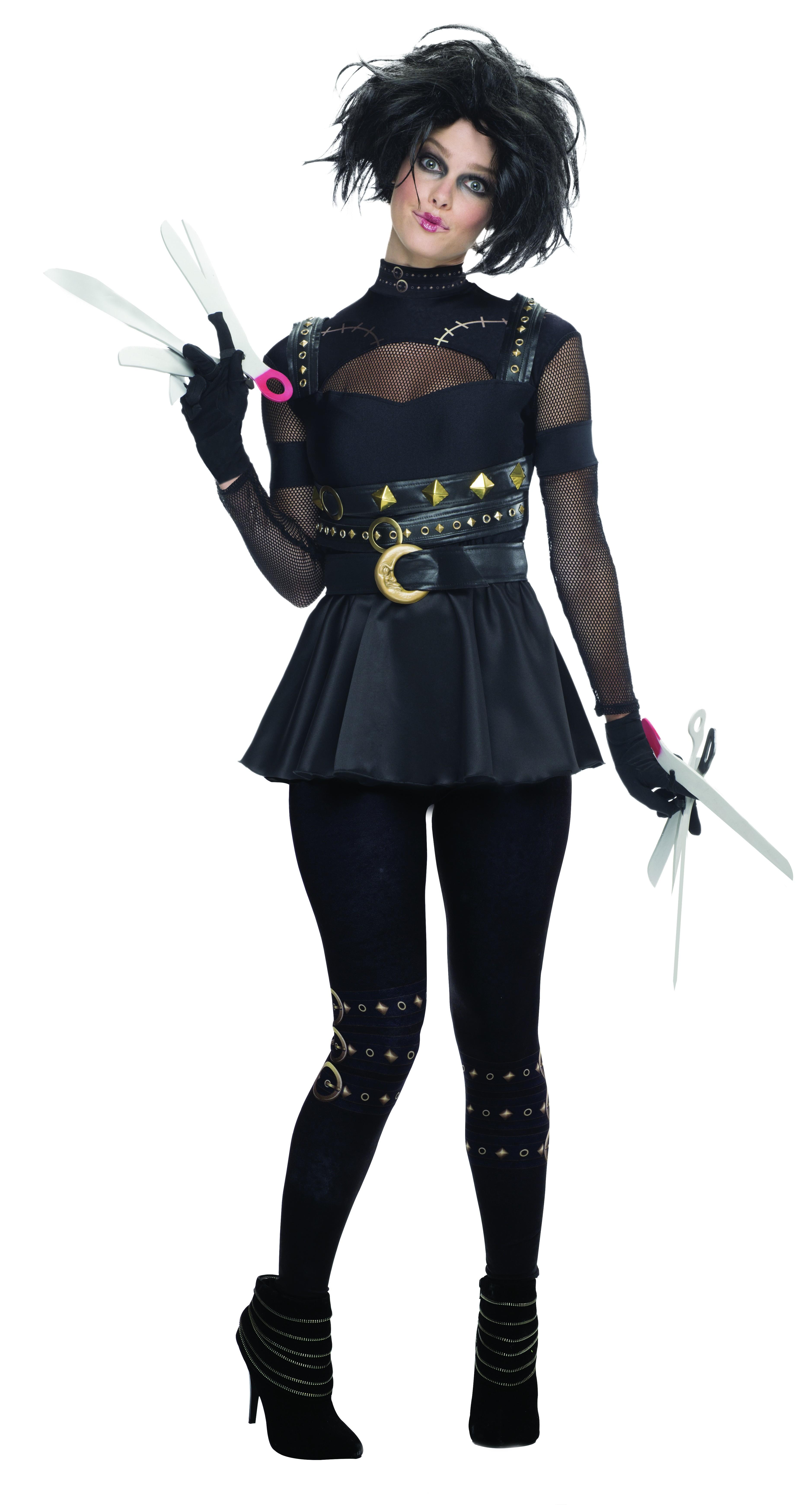 Secret Wishes Miss Edward Scissorhands Ladies Costume  sc 1 st  Mega Fancy Dress & Horror Film Costumes | Mega Fancy Dress