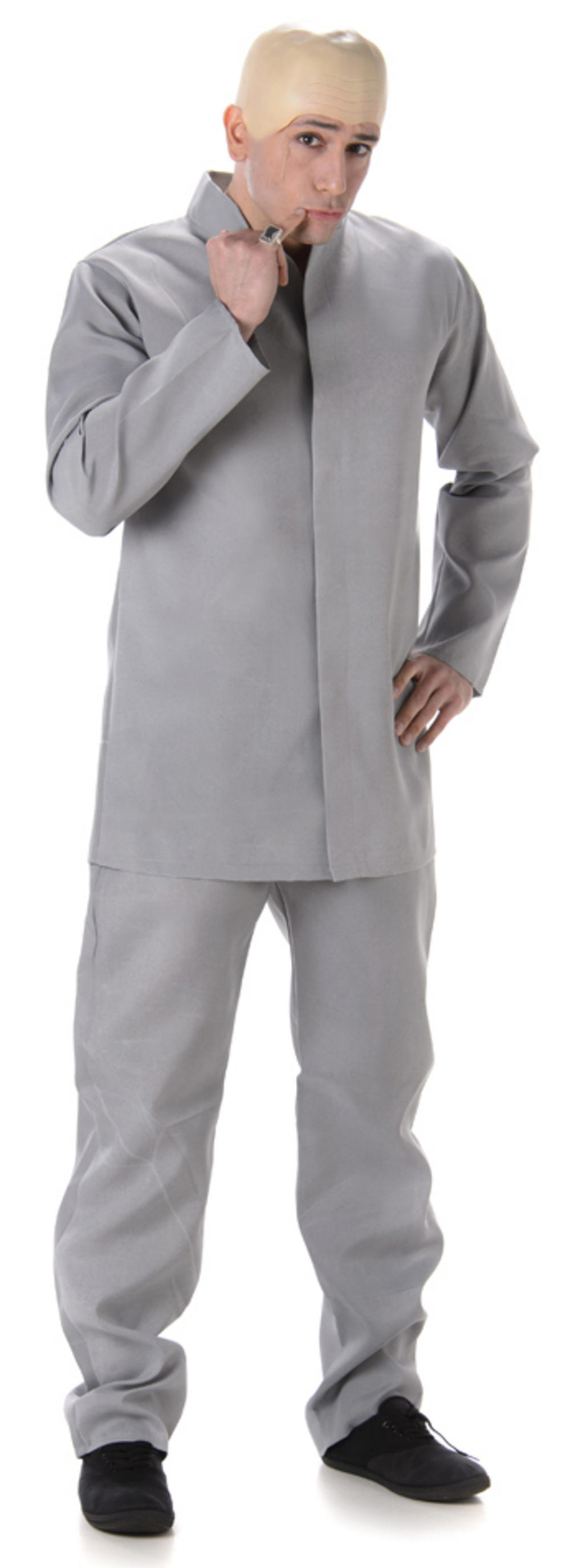 60s Grey Suit Mens Costume