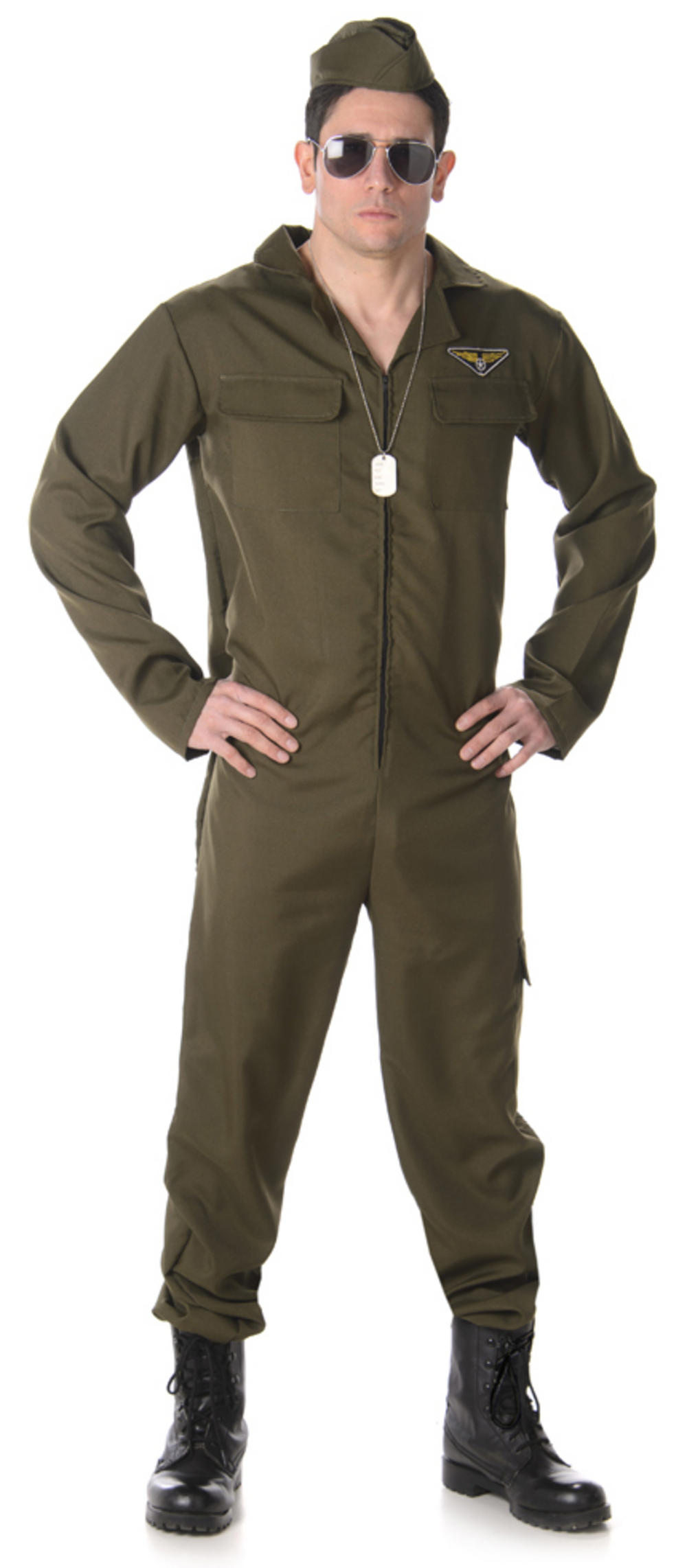 Fighter Pilot Mens Costume