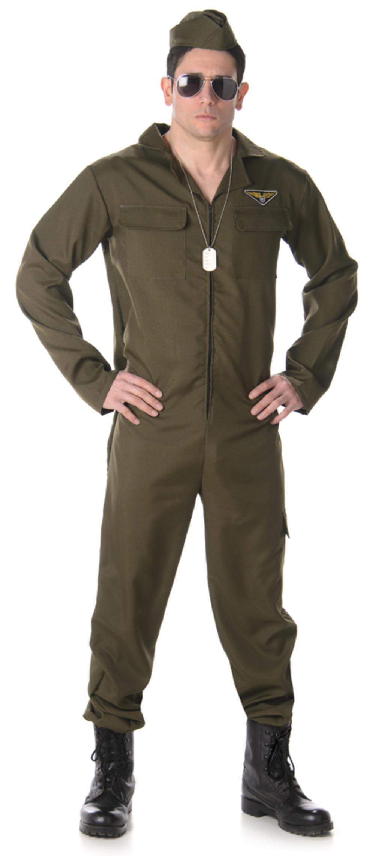 Fighter Pilot Mens Costume