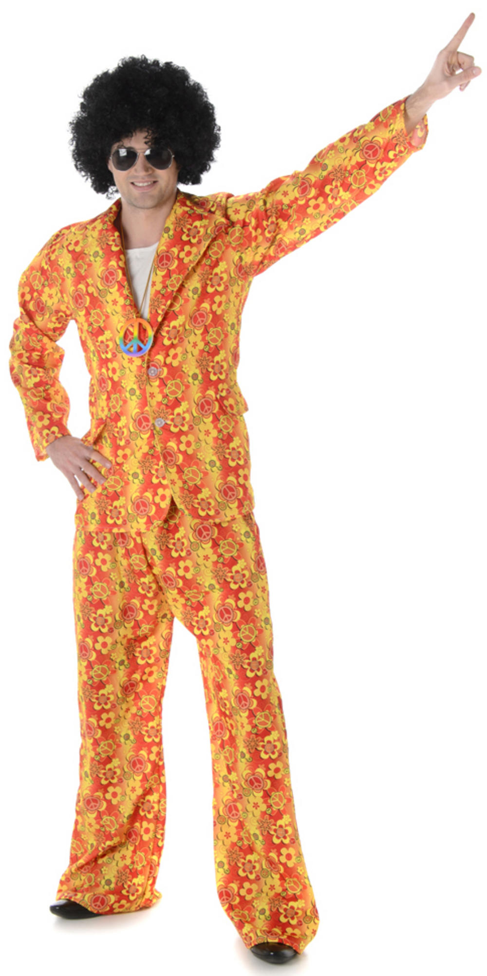 Hippie Suit Mens Costume